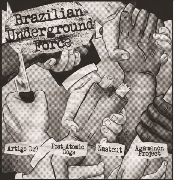 BRAZILIAN UNDERGROUND FORCE (CD-R)